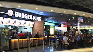 曼谷素万那普机场Burger King